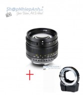 Combo lens 7ARTISANS 50mm F1.1 và TechArt Autofocus for Sony E mount