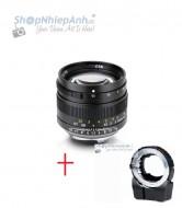 Combo lens 7ARTISANS 50mm F1.1 và TechArt Autofocus for Sony E mount