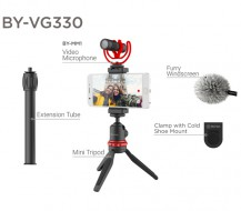 Combo Micro thu âm BOYA BY-VG330 for Smartphone Video Kit