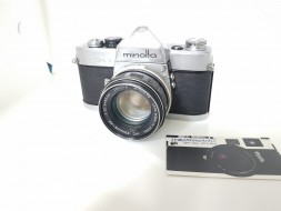 Combo Minolta SR-1 và lens 55f1.7