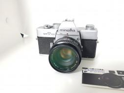 Combo Minolta SRT101 và lens 50f1.7