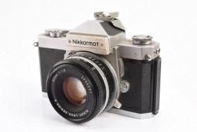 Combo Nikkormat FT2 và lens 50f1.8 series E