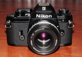 combo Nikon EM và lens 50F1.8 AIS sưu tầm