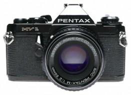 Combo Pentax MV1 và lens SMC-M 50f2 sưu tầm