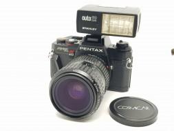 Combo Pentax Program A + lens 28-80 + flash