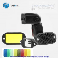 Combo Selens honeycomb grid spot filter set