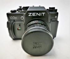 Combo Zenit 122K và lens Helios 44K-4 58f2
