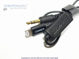 COMICA CVM-D-SPX(MI) 3.5mm TRS to Lighting Interface Audio Output Cable