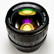 Cosina 55f1.2 MC for canon eos