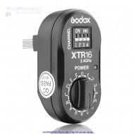 Cục nhận Godox XTR-16 2.4 GHz for X1 trigger