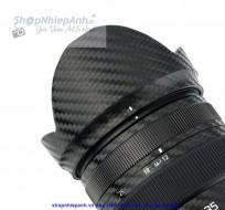 Dán Carbon bảo vệ lens Panasonic Lumix G X Vario 12-35mm f/2.8 II ASPH POWER O.I.S
