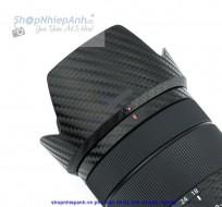 Dán Carbon bảo vệ lens Sony E 18-135mm f/3.5-5.6 OSS