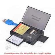 Đầu đọc thẻ kèm hộp đựng thẻ Kingma 3.0 multi card reader