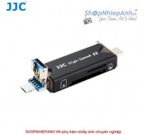 Đầu đọc thẻ OTG 3.0 for type C USB JJC CR-UTC3
