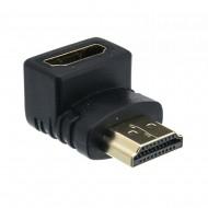đầu nối HDMI male-HDMI female hình chữ L