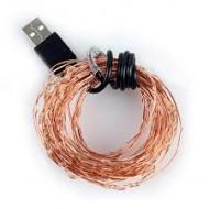 Dây đồng đèn Led 100 bóng 10M nguồn USB