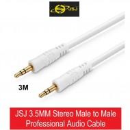 Dây nối 3.5mm male-male 3m JSJ