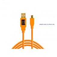 Dây TetherPro USB 2.0 to MINI-B 5 pin - Dài 4.6m -Dây kết nối máy ảnh và Máy tính USB