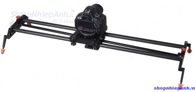 Dolly slider 120 degree rotation follower carbon fiber Commlite