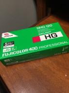 Film 120 fujifilm HG400 outdate