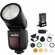 Flash Godox V1N for Nikon kèm Tản Sáng Godox AK-R1