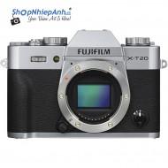 Fujifilm X-T20 (Silver) Body Chính Hãng