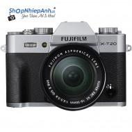 Fujifilm X-T20 (Silver) + Lens 16-50mm Chính Hãng