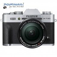 Fujifilm X-T20 (Silver) + Lens 18-55mm Chính Hãng
