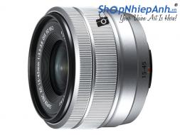 Fujifilm XC 15-45mm f/3.5-5.6 OIS PZ Silver Chính Hãng
