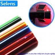Gel màu Selens cao cấp cho đèn flash led studio