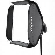 GODOX SMART SOFTBOX 50X50CM WITH GODOX S SHAPE ADAPTER