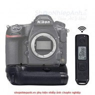 Grip Meike MK-D850 Pro for Nikon D850 wireless remote timer