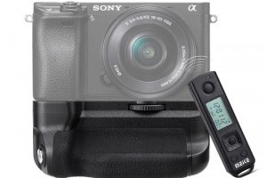 Grip Meike Pro for sony A6300 A6000 LCD TIMELAPSE REMOTE