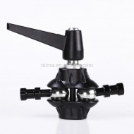 Grip Swivel Head Holder Bracket Metal for Photo Studio Boom Reflector Arm