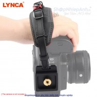 Hand strap Lynca E6 leather black
