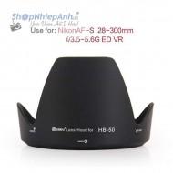 Hood for Nikon HB-50 (28-300 G ED vr)