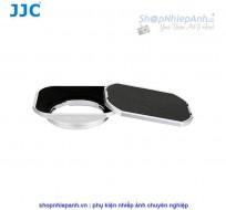 Hood JJC metal Silver combo for Fujifilm 35f2 23f2 WR (LH-JXF35SII)