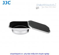 Hood JJC metal Silver combo for Fujifilm X100 series and X70
