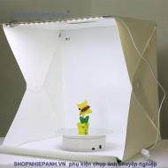 Hộp Chụp Sản Phẩm 30cm Có Đèn Led (New Version)