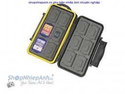 Hộp đựng thẻ nhớ 12 thẻ SD và 12 thẻ micro SD