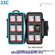 Hộp đựng thẻ nhớ JJC MCR-SC24 (12 SD 12 CF type A)
