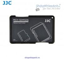 Hộp đựng thẻ tiện dụng JJC SDMSD6GR