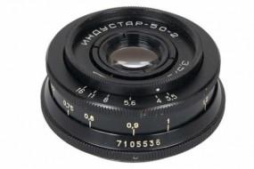 Industar-50-2 50F3.5 ngàm m42