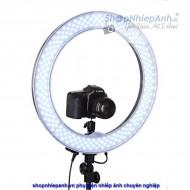 Led ring light RL-18 thế hệ mới chỉnh màu và công suất  (combo)