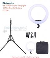 LED ring light RL480 combo