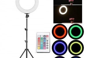 Led Ring RL-18w RGB 360 màu (combo)