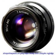 Lens 7ARTISANS 35mm F1.2 for canon mirrorless