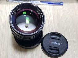 Lens 7ARTISANS 55mm F1.4 for Fujifilm FX (hàng xài lướt)