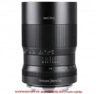 Lens 7ARTISANS 60mm F2.8 MACRO 1:1 for Fujifilm FX