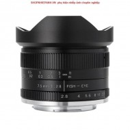Lens 7ARTISANS 7.5mm F2.8 II Fisheye for EF-M mirrorless